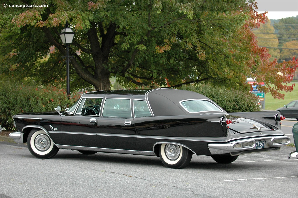 1958 Imperial Crown Imperial Wedge Head Chrysler